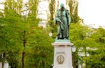 Zu Ehren des slowenischen Dichters Valentin Vodnik