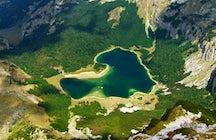Una esmeralda en forma de corazón - Trnovačko Lago