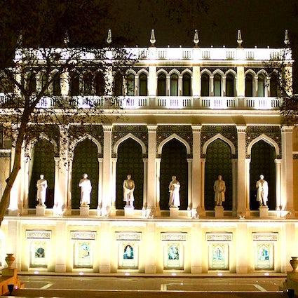 Casa della cultura azerbaigiana: Museo della letteratura azerbaigiana di Nizami