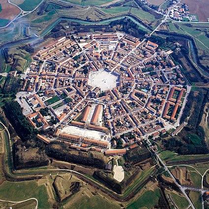 Palmanova, de stervormige stad