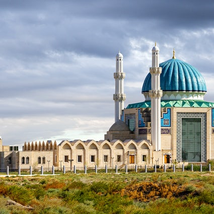 Turkistan, an ancient city of the old glory