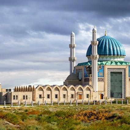 Turquistão, uma antiga cidade da antiga glória