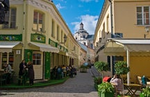 The Glass Quarter of Vilnius: a historic Jewish neighborhood