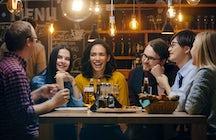 Pub crawl en Tallinn: una noche de diversión
