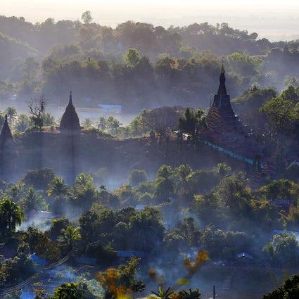 Pagoden im Nebel: Mrauk U, Rakhaing