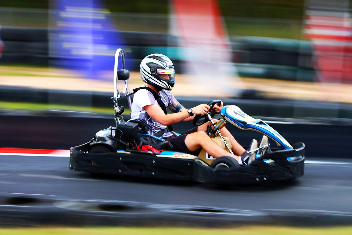 Test your car racing talent at Forgó Ring in Zamárdi