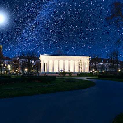 Star gazing at the Urania observatory in Vienna