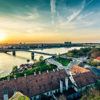 Moet steden in Servië zien