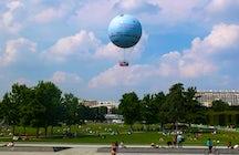 Les parcs et jardins à Paris : le parc André Citroën