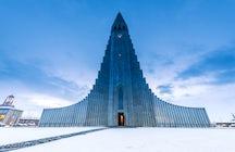 Hallgrímskirkja - una iglesia inspirada en la naturaleza islandesa