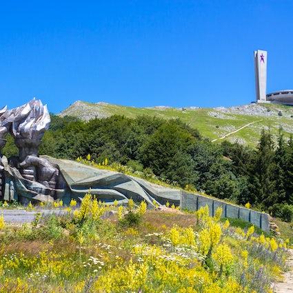 Capolavori dell'architettura socialista in Bulgaria: monumento di Buzludzha