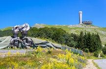 Socialist architectural masterpieces in Bulgaria: Buzludzha monument