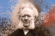 Henrik Ibsen's hometown Skien Norway
