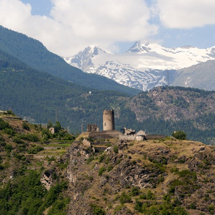 Castles of Aosta Valley; Châtel-Argent