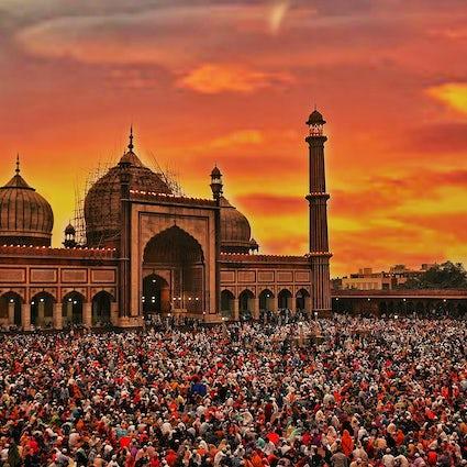 La herencia de Jama Masjid en medio de la cacofonía de la Vieja Delhi