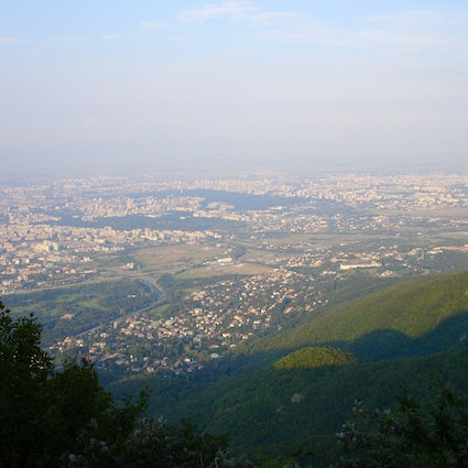 National park in the city of Sofia: Vitosha