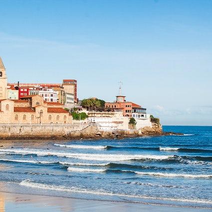 Een snel bezoek aan Gijón, Asturië, Asturias