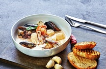 Bouillabaisse, a delicious traditional soup from Marseille