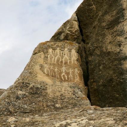 Gobustan - la prima residenza umana