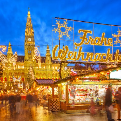 Se abre la temporada de mercados navideños en Viena