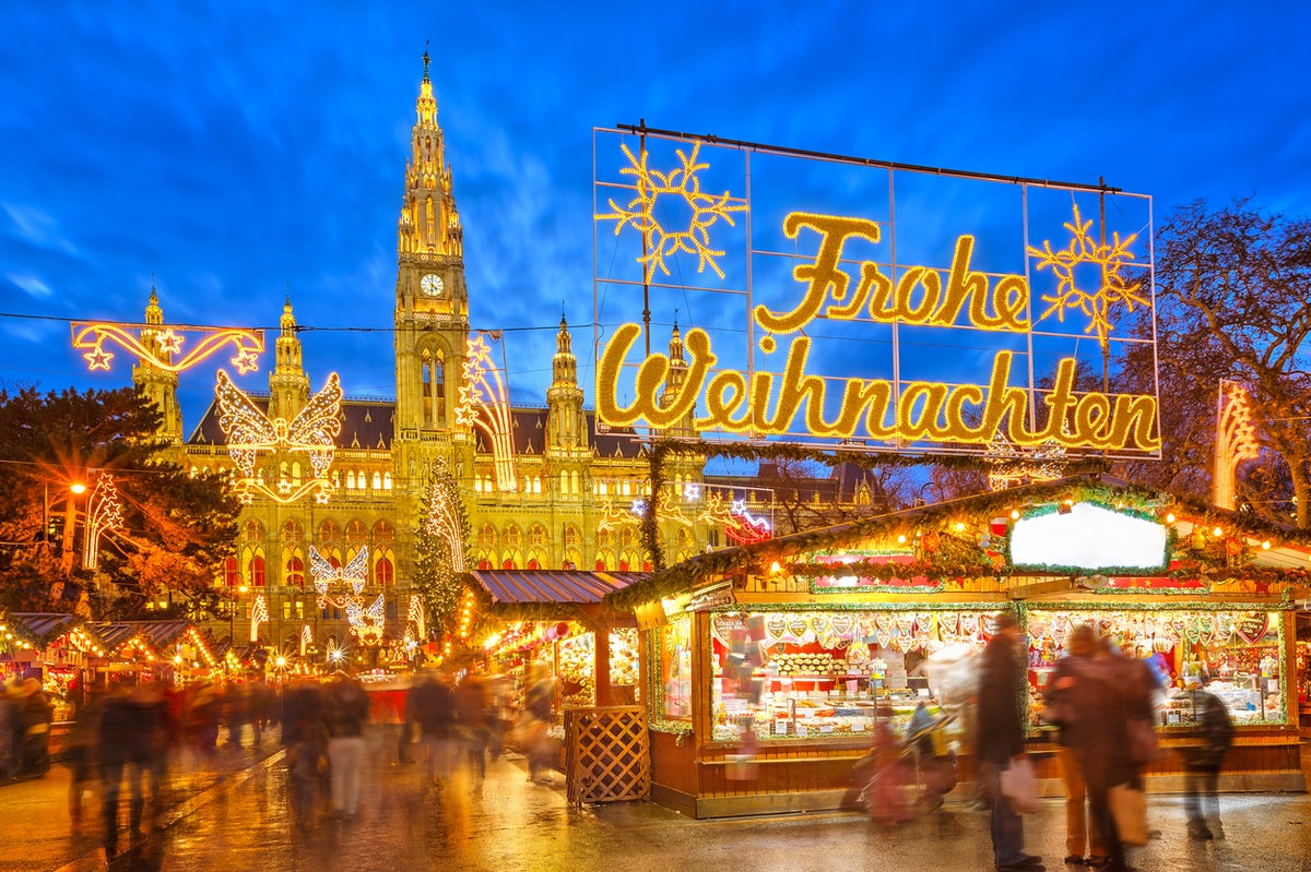 Weihnachtsmarkt Wien Eröffnung.Weihnachtsmarkt Saison Eröffnung In Wien