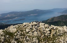 Hiking around Montenegro: Pestingrad - the peak above the city of Kotor