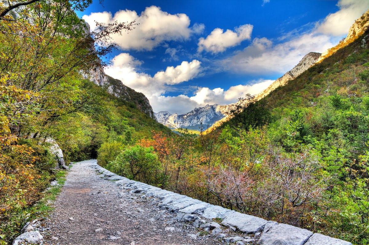 Hiking paths in Croatia: Velebit