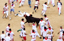 I jumped into the bullring in Pamplona