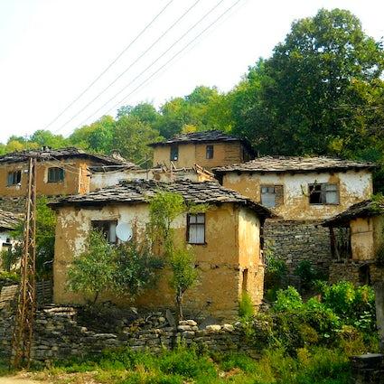 Il villaggio di pietra Gostusa, quasi dimenticato