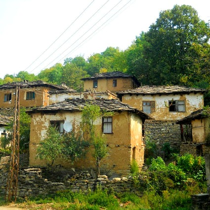 The nearly forgotten stone village Gostusa