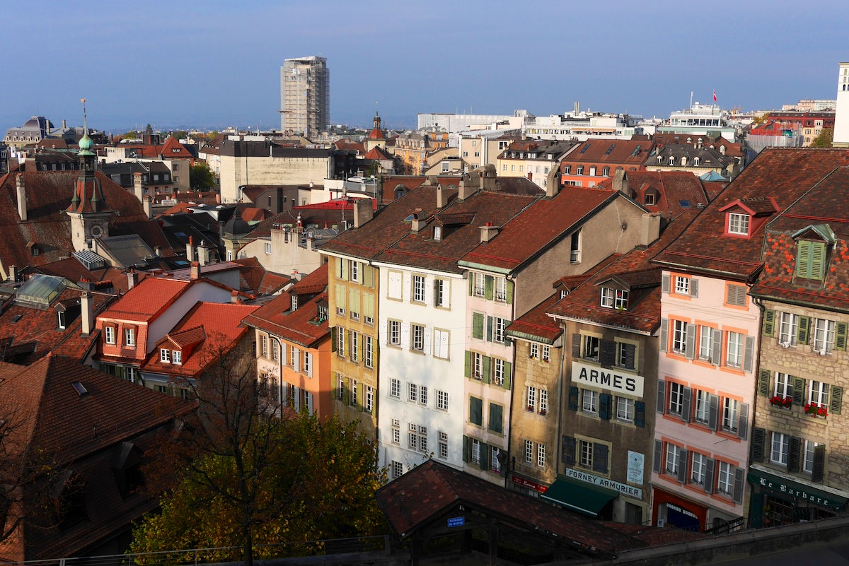 A day spent wandering around Lausanne