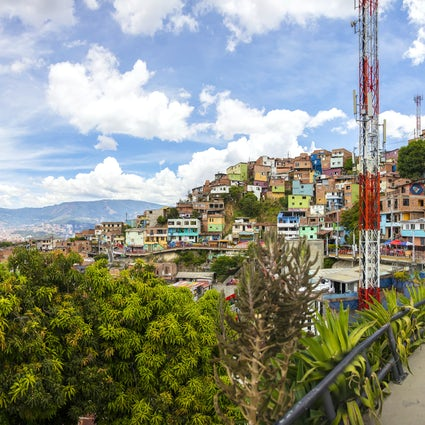 Medellín reborn: the graffiti tour in the Comuna 13