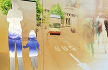 El alma artística de Bruselas a través de su transporte público