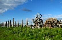Um incrível Nikola-Lenivets Art-Park perto de Kaluga