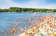 Almost like a sea: Novi Sad's most popular beach