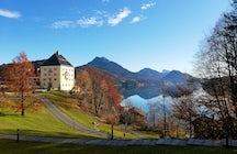 Schloss Fuschl para las estrellas y la realeza