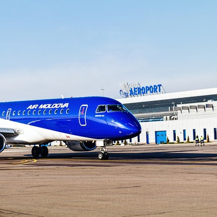 La alegría de viajar: Aeropuerto Internacional de Chisinau