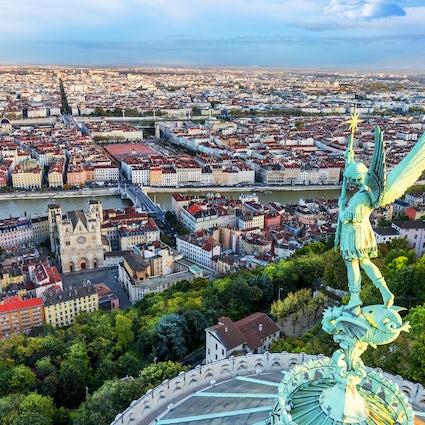 Lyon: A colina de Fourvière