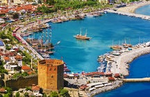 Cleopatra's private beach, Alanya!
