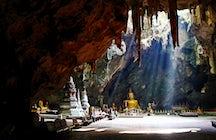 O santuário subterrâneo: Tham Khao Luang em Phetchaburi