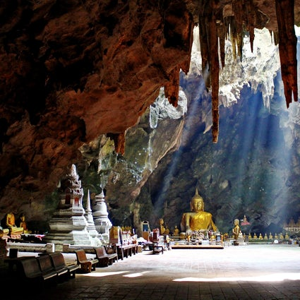 The underground sanctuary: Tham Khao Luang in Phetchaburi