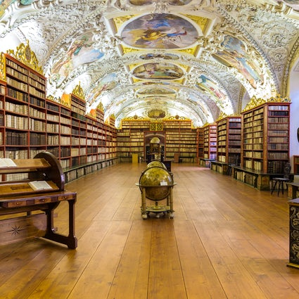 World's most beautiful library in Prague