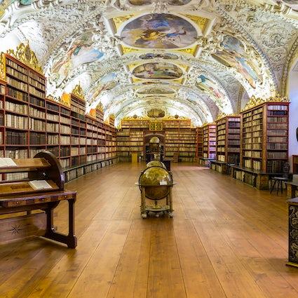 La biblioteca más bella del mundo en Praga