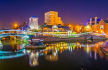 Visit the busy but brilliant city of Birmingham