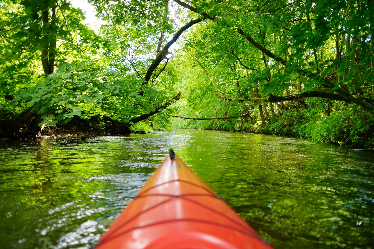 Lithuania for thrill seekers: kayaking in Minija River