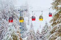 Una giornata sugli sci nei dintorni di Vienna