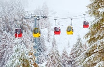 A day trip reserved for skiing near Vienna