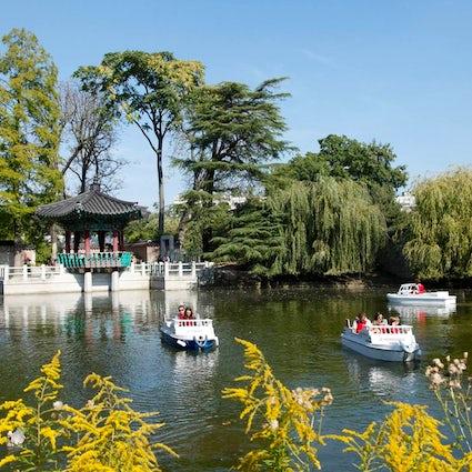 Amusement parks in Paris: Jardin d'Acclimatation