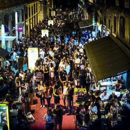 Nog een nachtreis naar Cais do Sodré!