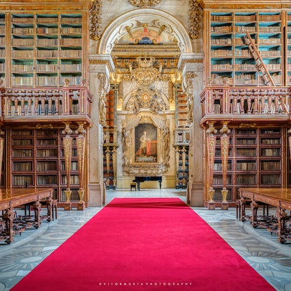 La Bibliothèque Joanina, un joyau de Coimbra